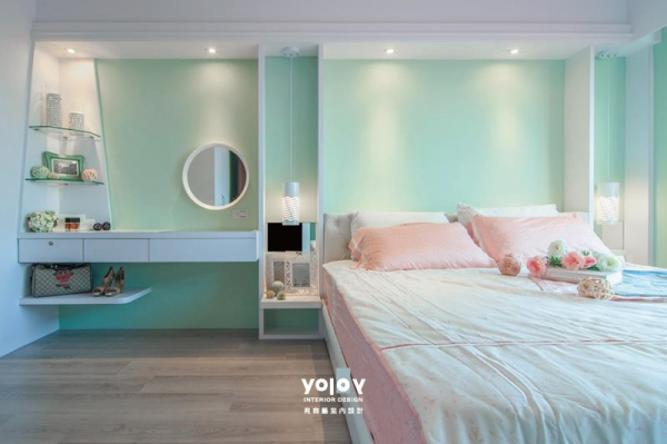 Interior design of bedroom-4